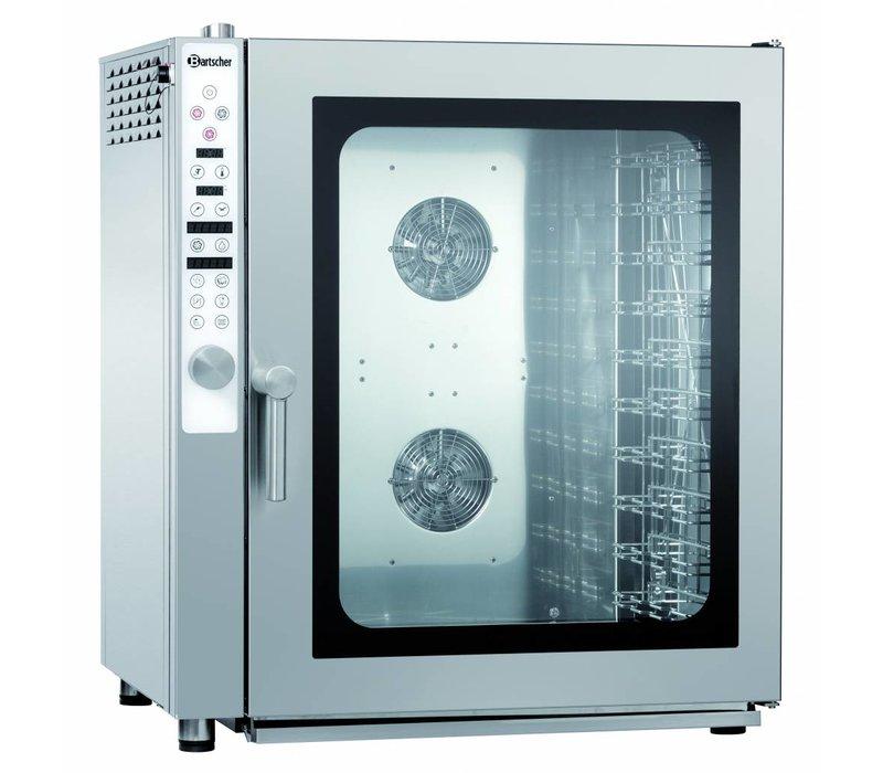 Bartscher Combisteamer 10x 1/1 GN | 99 Gaar Programma's | 890x815x(H)1010mm