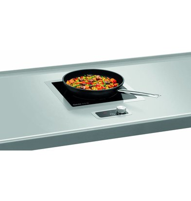 Bartscher Induction Cooker IK 35-EB | 3.5 kW | Suitable for installation 370x390x (H) 118mm