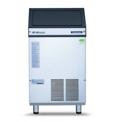 Scotsman Peeling ice machine AF / EF 103 Air cooled 108kg / 24h | 30kg Bunker | 535x622x (H) 997 / 1087mm