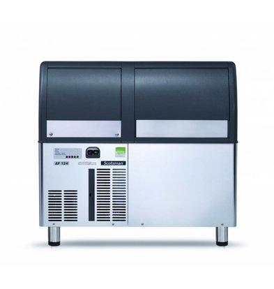 Scotsman Peeling ice machine AF / EF 124 Air-cooled 120kg / 24h | 40kg Bunker | 950x605x (H) 795 / 885mm