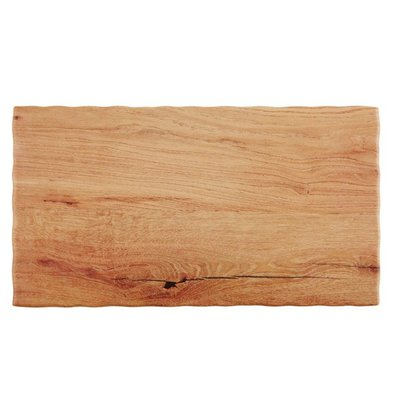 APS FSE Serveerschaal Oak Wood | Beschikbaar in 5 maten GN | Melamine | Stapelbaar | 53x32,5x(H)1,5cm