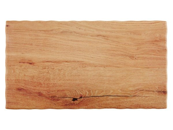 APS FSE Serveerschaal Oak Wood   Beschikbaar in 5 maten GN   Melamine   Stapelbaar   53x32,5x(H)1,5cm