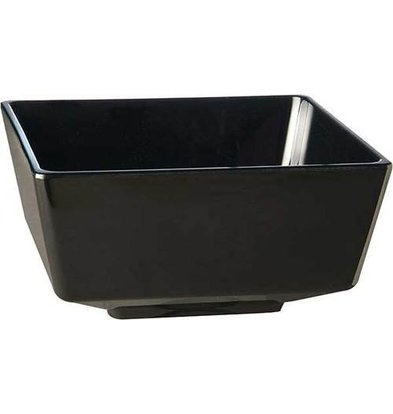 APS FSE Amuse Fingerfood Kom | Zwart | Melamine | Stapelbaar | 9x9x(H)4,5cm