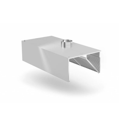 XXLselect Custom stainless steel extraction hood