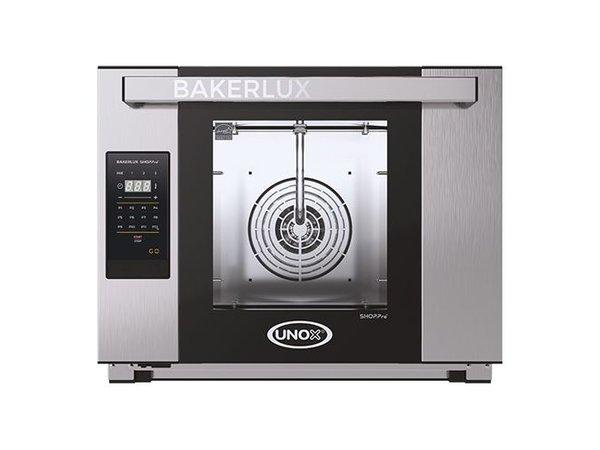 Unox Bakerlux Arianna GO Digitale heteluchtoven | XEFT-04HS-EGDN | 3500W | 460x330mm