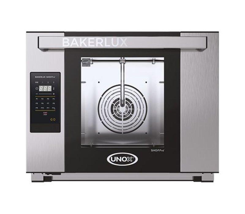 Unox Bakerlux Arianna LED Digitale heteluchtoven | XEFT-04HS-ELDV | 3500W | 460x330mm