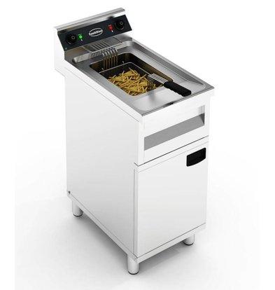 Combisteel Electric Fryer | With Mount | 12 liters 6 kW | 400x700x (H) 850mm