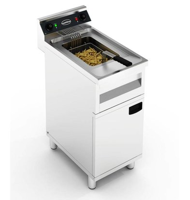 Combisteel Electric Fryer | With Mount | 12 liters 9 kW | 400x700x (H) 850mm