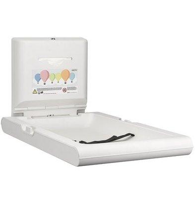Mediclinics Babyverschoontafel Verticaal | Wit | Opklapbaar Model | 550x890x(H)480mm(Open)