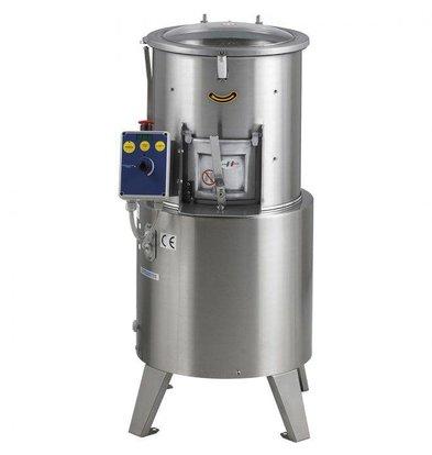 MEC Aardappelschiller | 500kg per uur | 15kg per cyclus | 400x500x(H)900mm