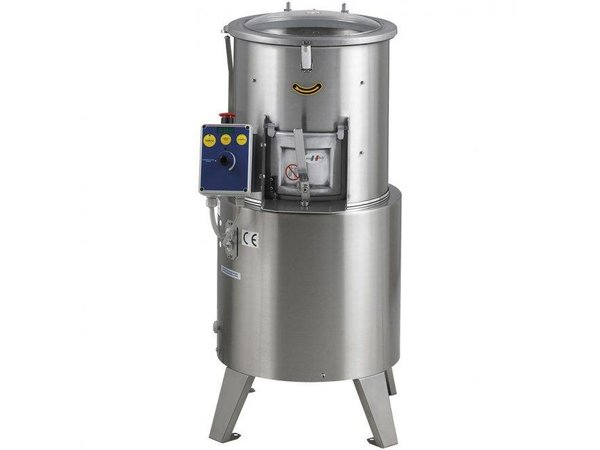 MEC Potato peeler 500kg per hour 15kg per cycle 400x500x (H) 900mm