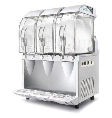 MEC Slush Puppy Machine | 3x11 Liter Capaciteit | 1420W | 600x580x(H)870mm