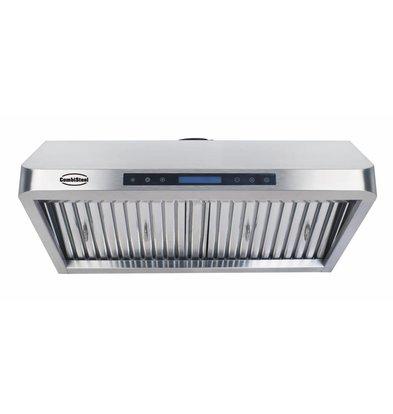 Combisteel Afzuigkap  Compleet Model | RVS 430 | 2 Filters | 900x560x250mm  | 1530m³ p/u