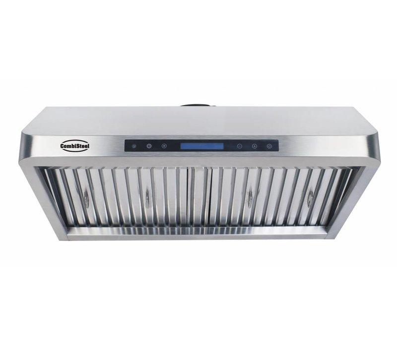 Combisteel Afzuigkap  Compleet Model | RVS 430 | 3 Filters | 1200x560x250mm  | 1530m³ p/u