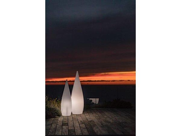 Lumisky Classy 120 Witte Buitenlamp | 360x360x(H)1200mm
