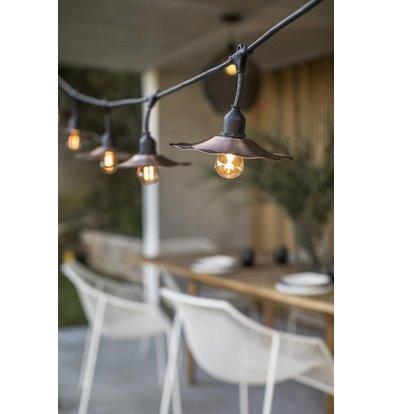 Lumisky Retro Snoerverlichting | 10 Lampen | 6 Meter Lang