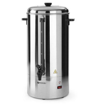 Hendi Single walled stainless steel percolator HENDI | Ø350x (H) 535mm | 78 Cups | 10 liter