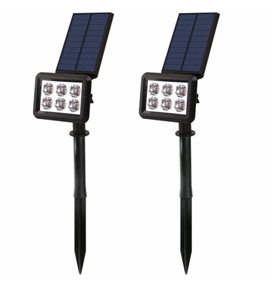 Lumisky Squary LED Spots | 4500 mAh | 290x90x450mm | Per 2