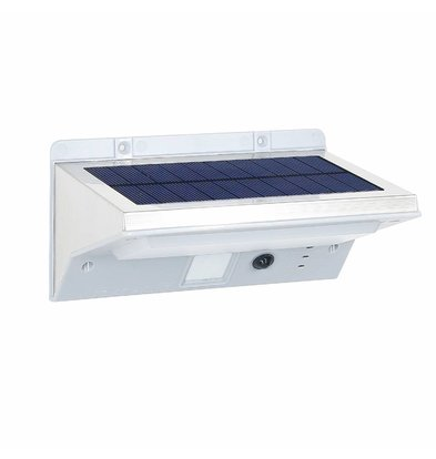 Lumisky Derby Solar LED Witte Spot | Motion Sensor | 2200 mAh | 161x109x84mm