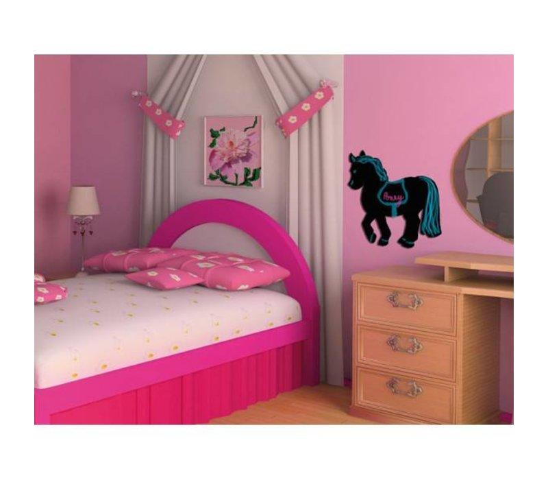 Securit Silhouet Wandkrijtbord Paard Incl. Krijtstift