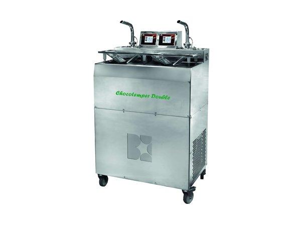 ICB Chocotemper Dubbel | 1x 5.5kg |1x 11kg | 3,5 kW | 780x520x(H)1360mm