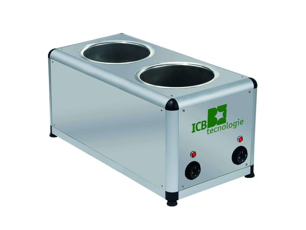 ICB Caraphot Two| Chocoladesmelter | 2x 7 Liter | 310x570x(H)300mm