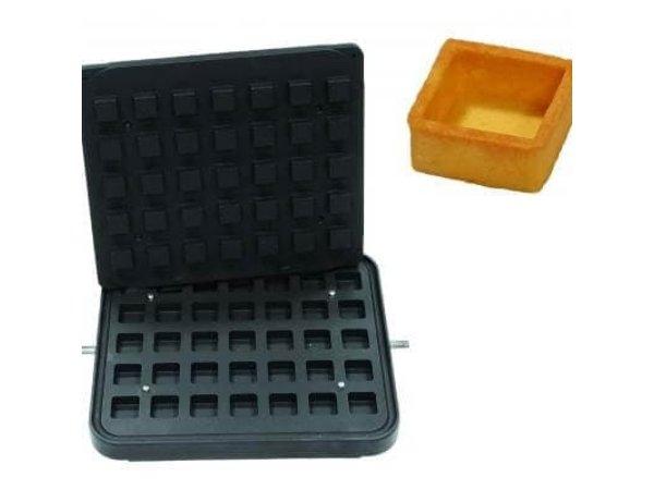 ICB 35x Small Square Brick | 35x35mm | 17mm Hoog
