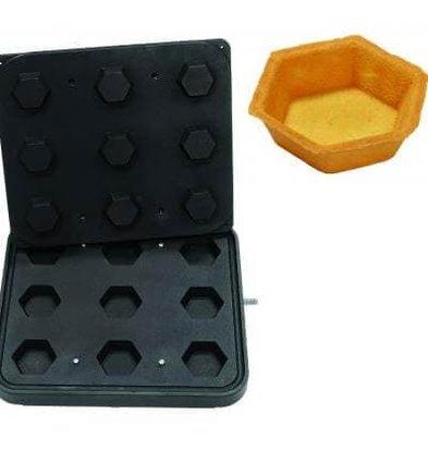 ICB 9x Hexagon | 70x70mm | 20mm Hoog