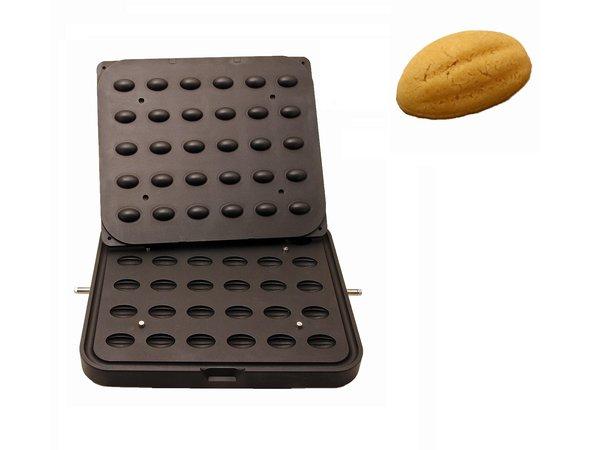 ICB 30x Smooth Nut | 41x28mm | 15mm Hoog