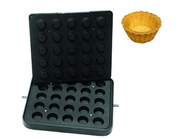 ICB 25x Cupcake | Boven Ø50mm | Onder Ø35mm | 21mm Hoog