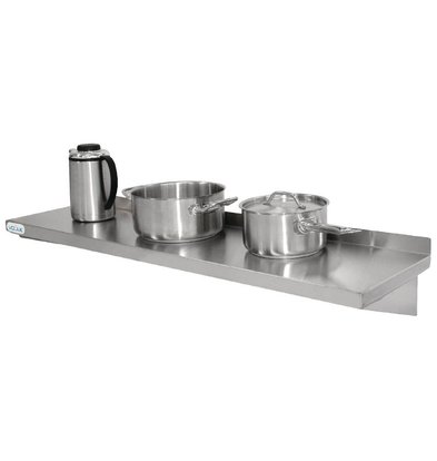 Vogue Stainless Steel Shelf - Complete - 300mm - CHOICE OF 5 SIZES