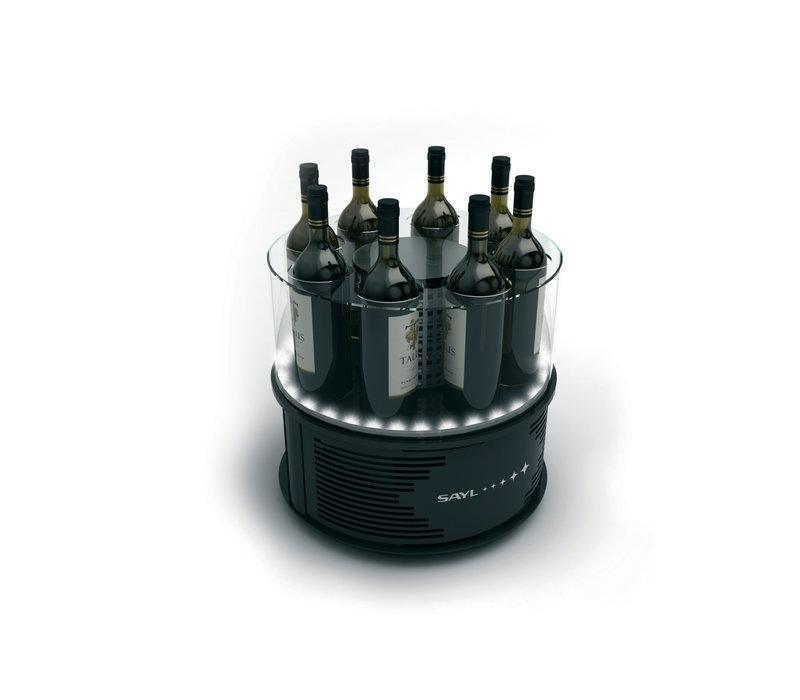 SAYL Alegria Wijnkoeler | Geschikt voor 8 flessen van 90mm | 435x435x(H)370mm | Beschikbaar in 2 Modellen