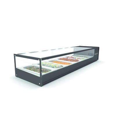 SAYL Logic Tapas Refrigerated display cabinet LED Lighting | Suitable for 1 / 3GN 40mm | Available in 2 sizes