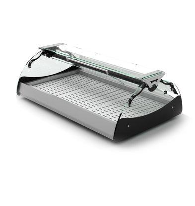 SAYL Maxiself Warmhoudvitrine   LED Verlichting   Geschikt voor RVS Platen   Self Service   1020x650x320mm
