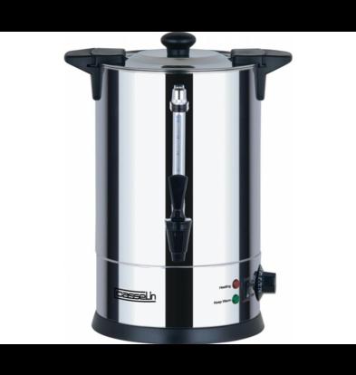 Casselin SHOWMODEL | Heetwaterdispenser | dubbelwandig | Non-drip Tapkraan | Ø225mm | 6.8 Liter