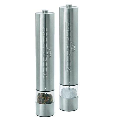 Proficook Pepper and Salt Mill Set - Automatic with Push - Lighting at Bottom - 31 (h) cm VIDEO