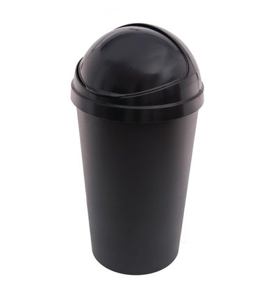 Curver Waste bin Black | Plastic 50 liters