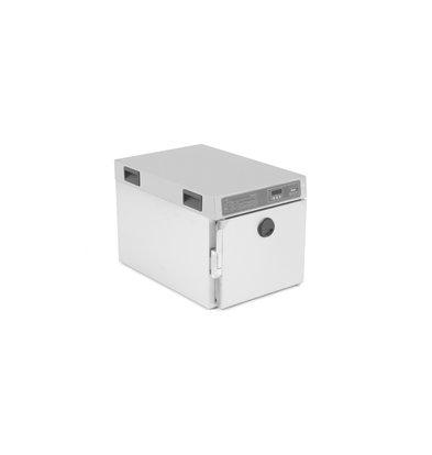 Rieber Thermomat met Klapdeur | Geschikt voor 3 x GN 1/1 65 mm of 2 x GN 1/1 100 mm | Garen Op Kerntemperatuur | 0,83kW | 448x689x465mm