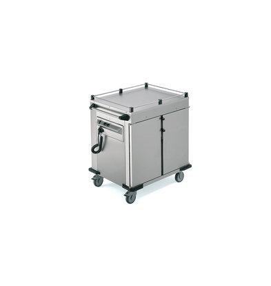 Rieber Voedseltransportwagen | Verwarmde Kast | Beschikbaar in 2 maten