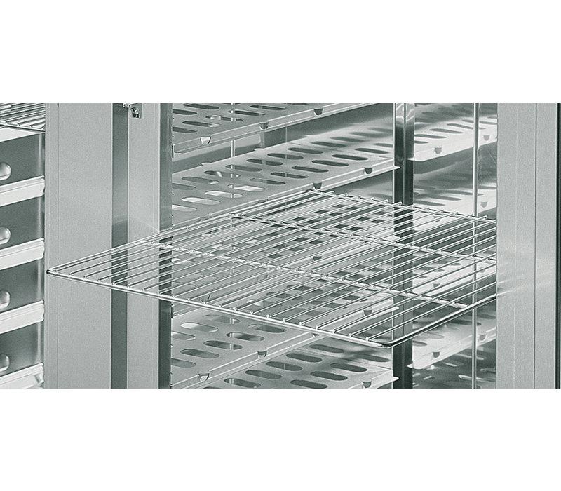Rieber Banketwagen 1 x 2/1 GN Gekoeld | 600W | 802x884x(H)1755mm | Geschikt voor 11 GN2/1 Roosters