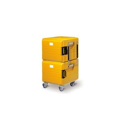 Rieber Thermoport 1x6000K(onverwarmd) + 1x6000KB (Verwarmd)  2x 104 Liter | 8x GN 1/1 200mm | 766x790x1280mm | 2 Kleuren Beschikbaar
