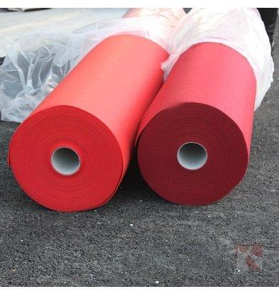 XXLselect Rode Loper Zonder Beschermfolie| 2 Meter Breed | Beschikbaar in 3 Lengtes