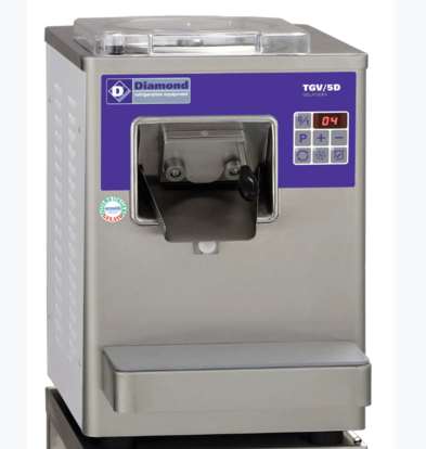 Diamond Verticale Automatische Ijsturbine | Tafelmodel | 9/12 Liter/u | Luchtcondensator | 410x510x(H)590mm