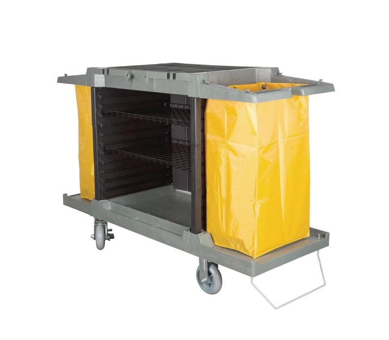 Bolero Huishoudwagen, 2 x 77 Liter. Zakken