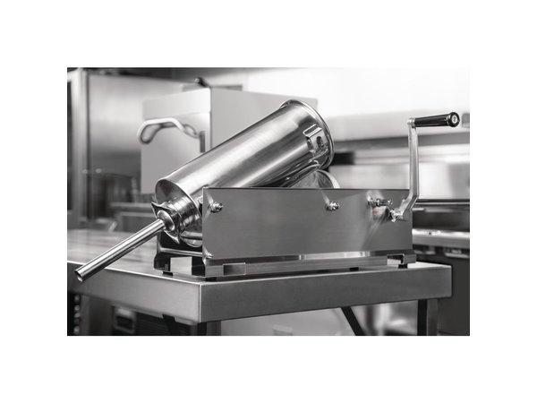 Buffalo Worstenmaker Handmatig   RVS Cylinder   4 Stampers Ø13, 20, 30, 36mm