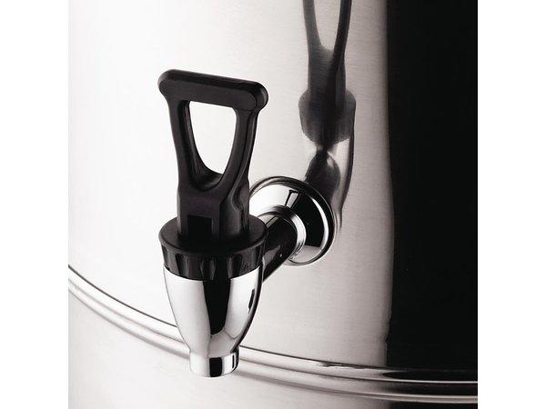Buffalo Heetwaterdispenser RVS | Druppelvrije Kraan | Ø326mm | 10 Liter