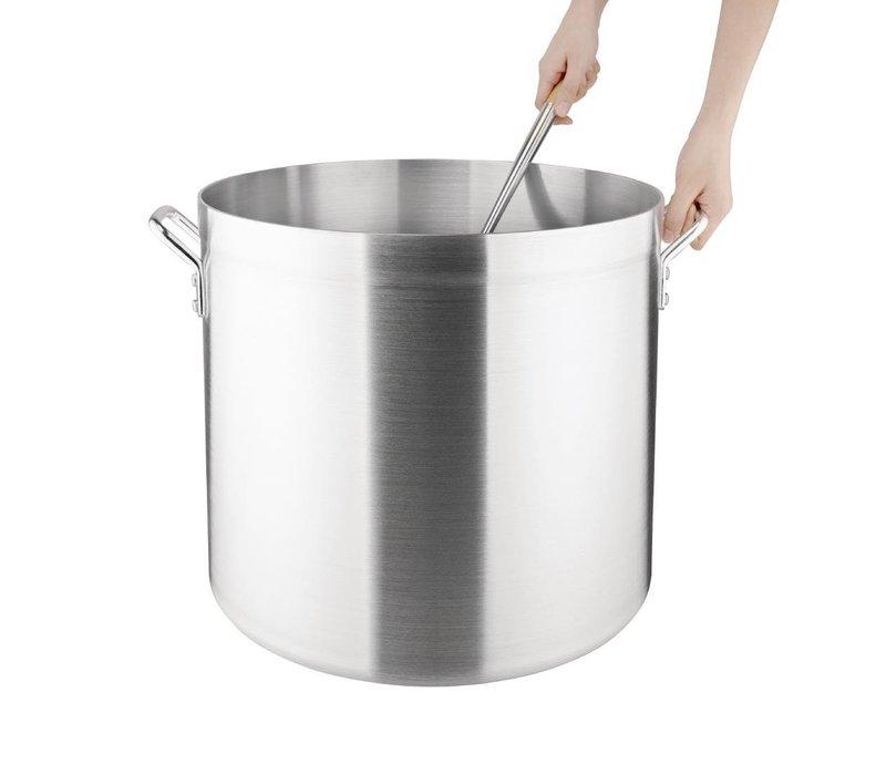 Vogue Kookpan / Soeppan Hoog Aluminium - 18,9 Liter - KEUZE UIT 4 MATEN