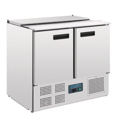 Polar Saladette - 240 liter - 90x70x(h)85cm