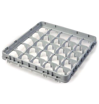 Cambro Glazenkorf Verhoger met 25 Compartimenten | 500x500x(H)51mm