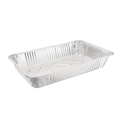 Fiesta Rectangular Aluminum collection containers | 5 pieces Available in GN 1/1 and 1/2